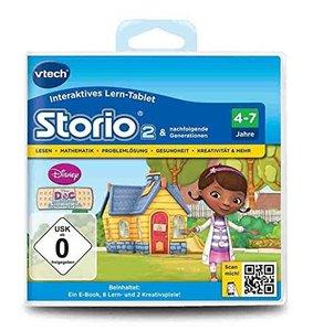 VTech 80-232104 - Lernspiel: Doc McStuffins (Storio 2, Storio 3S