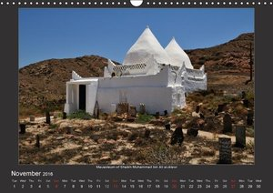 Magical Oman UK Version (Wall Calendar 2016 DIN A3 Landscape)