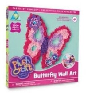 Invento 621400 - Plush Craft: Butterfly Pillow
