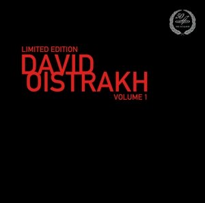 Limited Edition David Oistrakh Vol.1