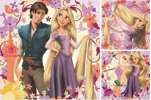 Rapunzel. Puzzle 3 X 49 Teile
