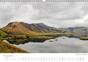 Colors of Iceland 2015 / UK-Version (Wall Calendar 2015 DIN A3 L