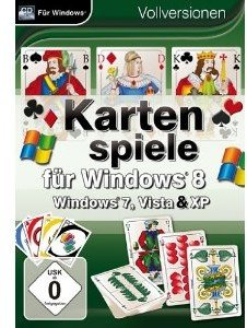 Kartenspiele für Win 8. Für Windows XP/Vista/7/8