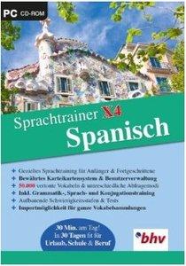 Lernen & Co - Sprachtrainer X4 Spanisch/CD-ROM