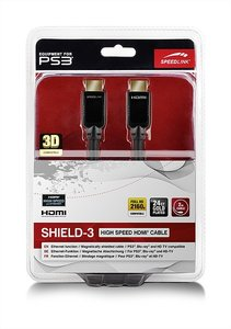 SHIELD-3 High Speed HDMI Cable with Ethernet, 2m