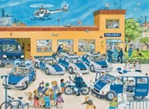 Polizeirevier. Puzzle 100 Teile XXL