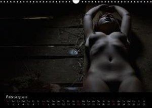 naturally naked (Wall Calendar 2015 DIN A3 Landscape)
