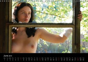 naturally naked (Wall Calendar 2015 DIN A3 Landscape)