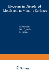 Electrons in Disordered Metals and at Metallic Surfaces