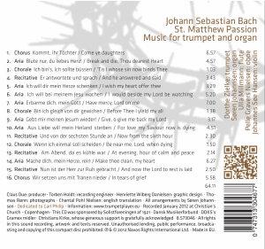 Matthäus-Passion arr.für Trompete und Orgel