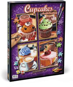 Schipper Malen nach Zahlen: Cupcakes (Quattro)