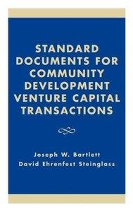 Standard Documents for Community Development Venture Capital Tra