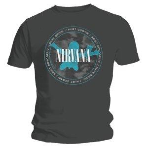 Nevermind Silhouette (T-Shirt,Schwarz,Größe XL)