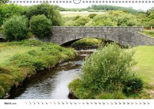 Charming - Mystic Devon Dartmoor, South England (Wall Calendar 2