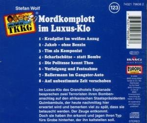 123/Mordkomplott im Luxus-Klo