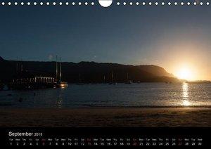 Hawaii - Sun and Sea (Wall Calendar 2015 DIN A4 Landscape)