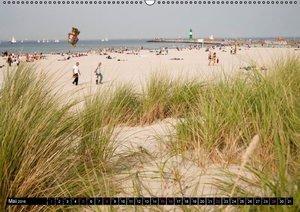 an der Ostsee (Wandkalender 2016 DIN A2 quer)
