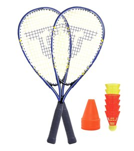 Talbot Torro 490106 - Speed Badminton Set 6000, im Slingbag, + 6