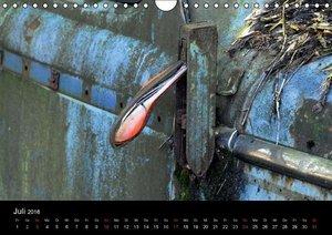 ROSTLAUBEN Die schönsten Autowracks (Wandkalender 2016 DIN A4 qu