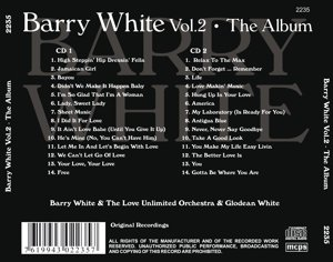 Barry White - The Album Vol. 2