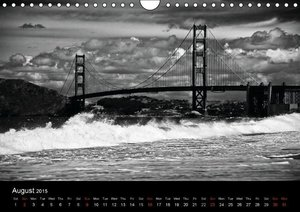 Architecture in Black and White / UK-Version (Wall Calendar 2015