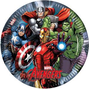 Marvel Avengers Power Pappteller Ø 23 cm 8 Stück
