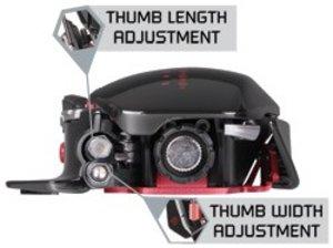 R.A.T. 7 Gaming Maus, 6400 dpi, schwarz-matt