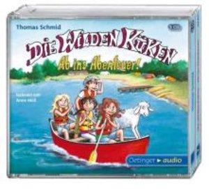 Die Wilden Küken - Ab ins Abenteuer! (3 CD)
