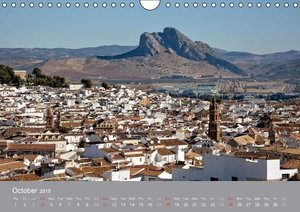 White villages of Andalusia (Wall Calendar 2015 DIN A4 Landscape