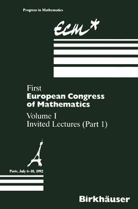First European Congress of Mathematics