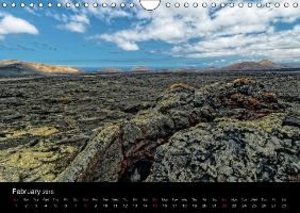 LANZAROTE Masterpieces of Volcanoes (Wall Calendar 2015 DIN A4 L