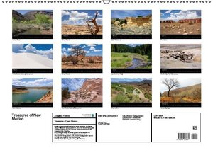 Treasures of New Mexico (Wandkalender 2016 DIN A2 quer)