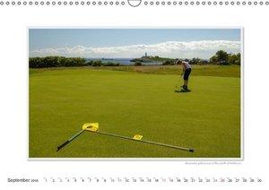 Emotional Moment: Golf. UK-Version (Wall Calendar 2016 DIN A3 La