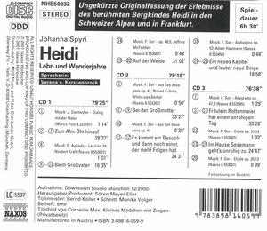 Heidi-Lehr-Und Wanderjahre