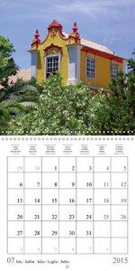 Colours of the Algarve 2015 (Wall Calendar 2015 300 × 300 mm Squ