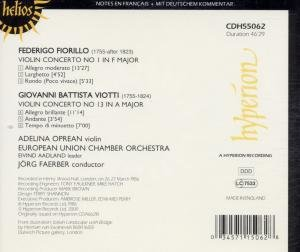 Two Romantic Violin Concertos