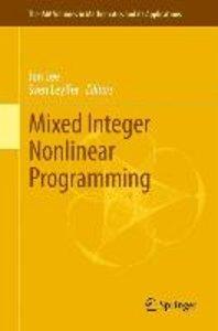 Mixed Integer Nonlinear Programming