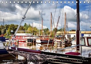 Friesland - am Vareler Hafen (Tischkalender 2016 DIN A5 quer)