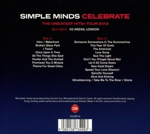 Celebrate: The Greatest Hits Live 2013 (O2 Arena,