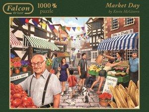 Jumbo Spiele 11111 - Market Day, 1000 Teile