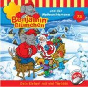 Benjamin Blümchen 073 und der Weihnachtsmann. CD