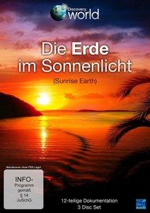 Die Erde im Sonnenlicht