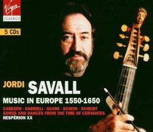 Savall/Hesperion XX/Figueras: Music In Europe 1550-1650