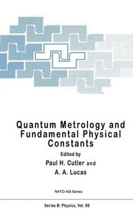 Quantum Metrology and Fundamental Physical Constants