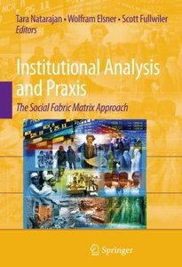 Institutional Analysis and Praxis