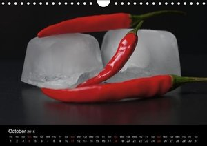 Hot Chili Calendar (Wall Calendar 2015 DIN A4 Landscape)