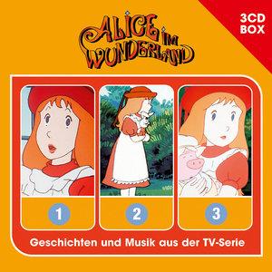 Alice im Wunderland Alice Im Wunderland - 3CD-Hörspielbox