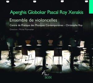 Oeuvres pour violoncelle de Xenakis,Aperghis,...