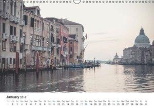 Venice - Silent views (Wall Calendar 2015 DIN A3 Landscape)