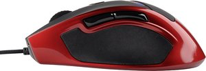 KUDOS RS Gaming Mouse, rot-schwarz